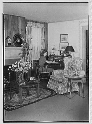 Old Living Room 1940 the american living room | encyclopedia of greater philadelphia