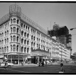 Photograph of the Lit Brothers Store at 701-739 Market Street.