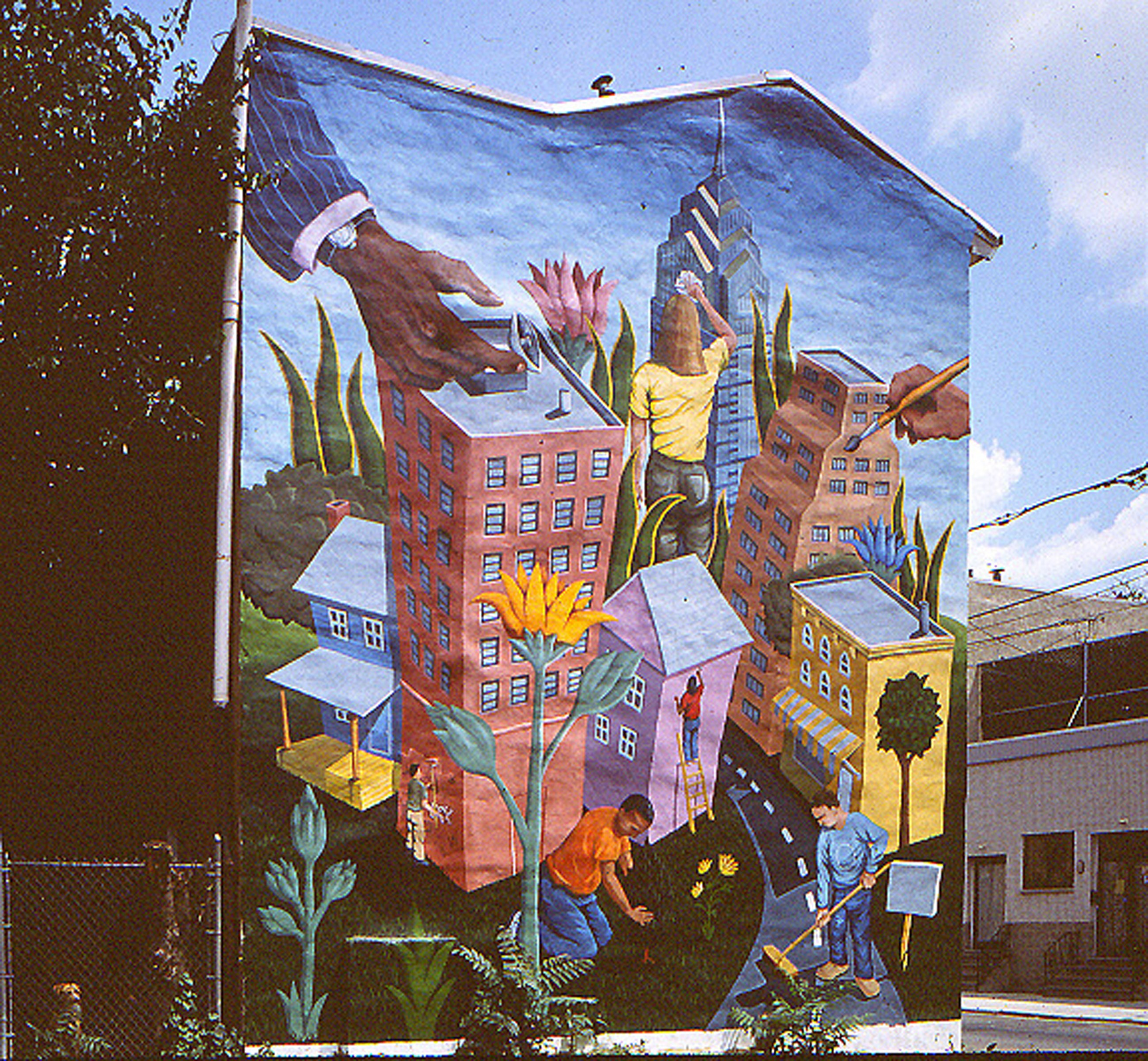 Helping hands encyclopedia of greater philadelphia for City of philadelphia mural arts program