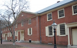 Arch Street Meeting House, completed in 1804. (Partners for Sacred Places)