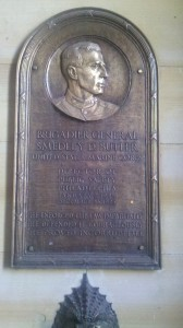 "Where but in Philadelphia during the early twentieth century would it be so remarkable that a public official was ""incorruptible""? This plaque in the north portal of City Hall so honors Brigadier General Smedley D. Butler (1881-1940), who served as Director of Public Safety in 1924-25."
