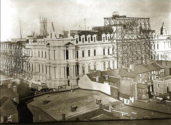 City Hall Under Construction