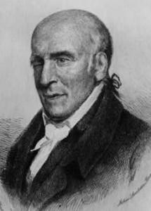 Printed portrait of Stephen Girard