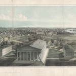1850 lithograph of Girard Colege