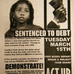 ACT UP Demonstration Poster