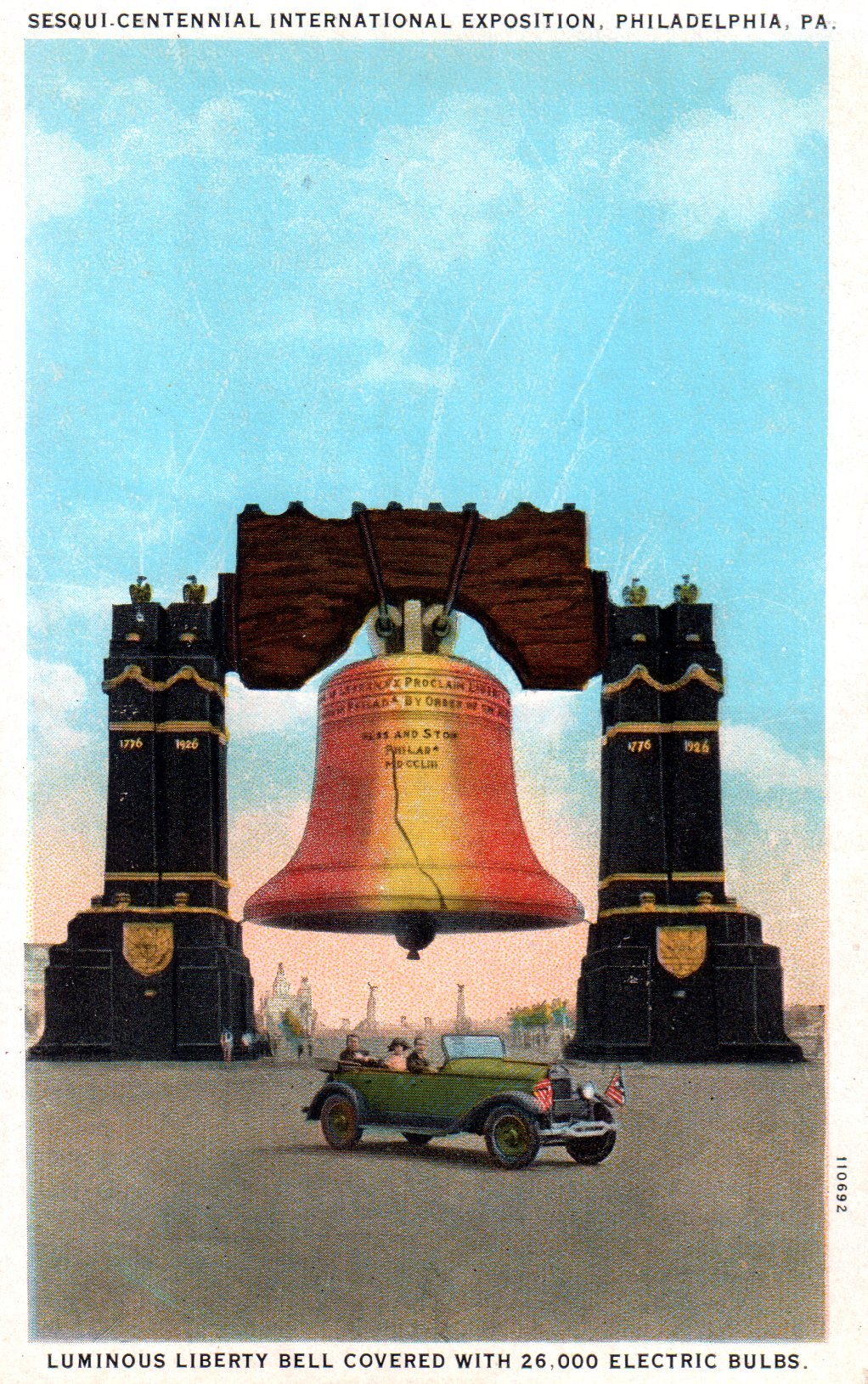 Liberty bell over broad street encyclopedia of greater philadelphia liberty bell over broad street biocorpaavc Images