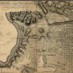 map of Philadelphia, 1796
