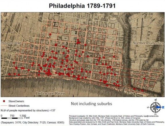 Philadelphia And Its People In Maps  Encyclopedia Of