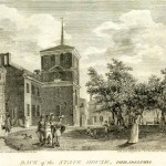 engraving of the Pennsylvania State House