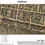"""map of """"Hell Town"""""""