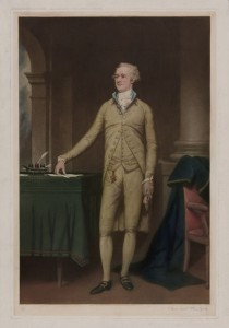 Portrait of Alexander Hamilton, standing