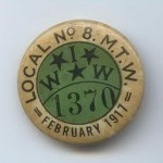 IWW Membership Button, 1917