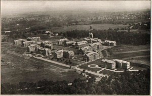 aerial photograph of Pennhurst Campus