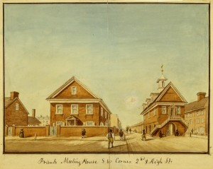 Friends Meeting House, S.W. Corner 2nd and High Street