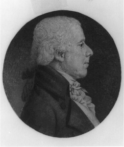 Shown in an engraving from 1802, Benjamin Rush was a prominent animal protection advocate during the early years of the United States. (Library Company of Philadelphia)