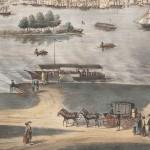 print depicting Cooper's Ferry