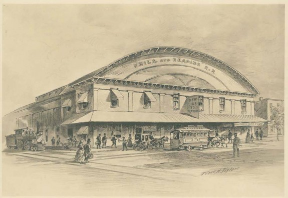Illustration of the Green Street station