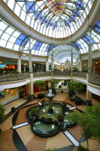 Color photograph of King of Prussia Mall interior.