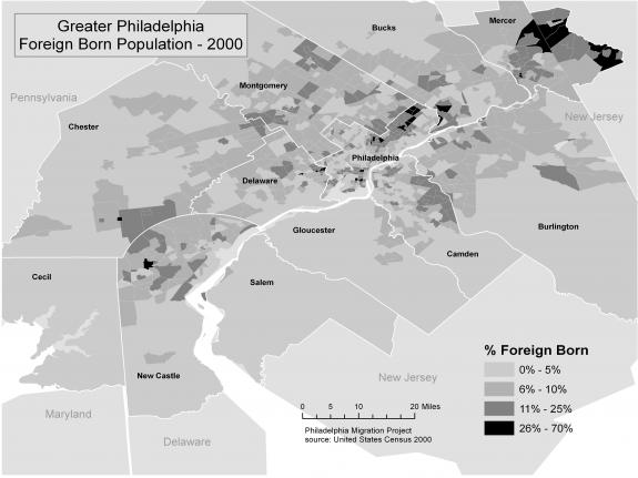 Foreign Born Population- 2000