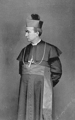 Rt. Rev. John W. Shanahan (1846-1916), the first Superintendent, served from1894 to 1899.  (Philadelphia Archdiocesan Historical Research Center)
