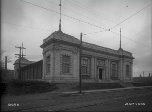The Tacony Public Bath House was constructed to serve more as a recreational facility than citizen cleanliness. (PhillyHistory.org)