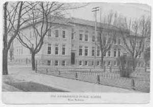 The Main Building of Haddonfield Public School