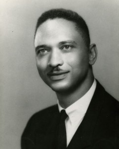 Portrait photograph of Leon Sullivan