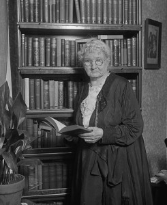 photograph of Mother Jones at an old age