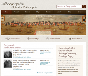 Image of Encyclopedia Home Page