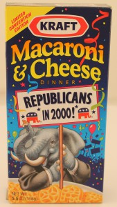 Photograph of macaroni box.