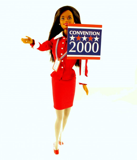 Barbie doll from Republican National Convention.