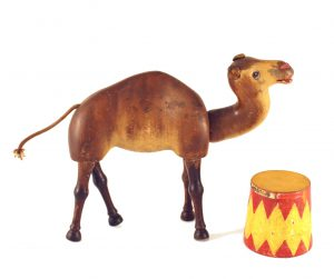 Photograph of toy camel