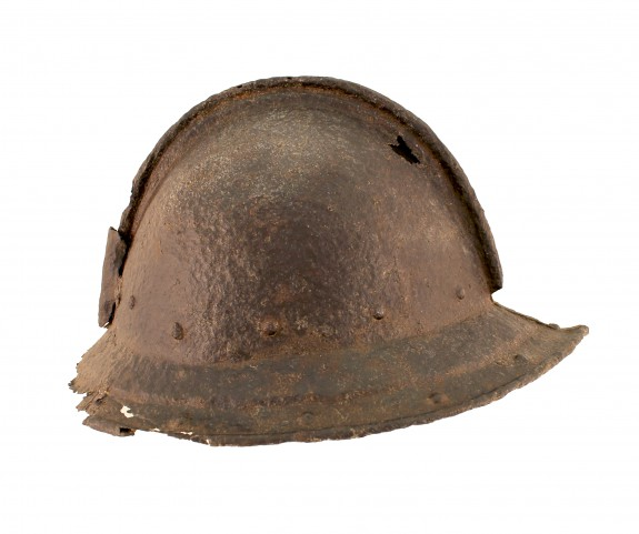 Swedish steel helmet.
