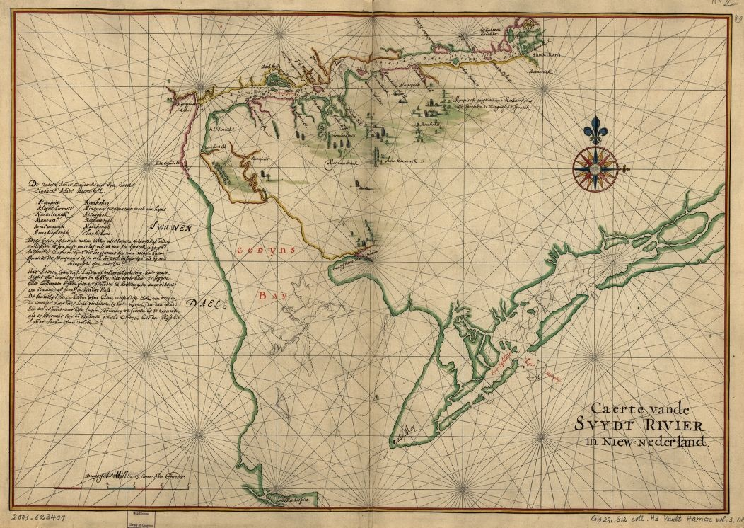 Native American Groups Along The Delaware In 1639 Encyclopedia Of