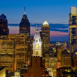 Photograph of Philadelphia skyline