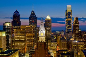 Photograph of Philadelphia skyline