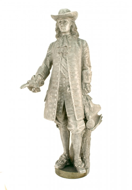Model of William Penn sculpture for City Hall.