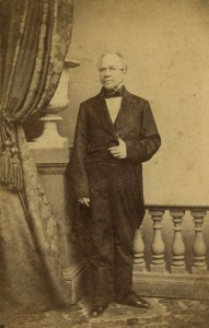 David Paul Brown, photographed in 1861. (Library Company of Philadelphia)