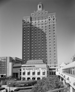 A view of the Claridge Hotel in Atlantic City as it appeared prior to its 2014 reopening.