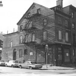 Photo of Joseph Jefferson House prior to its renovation.