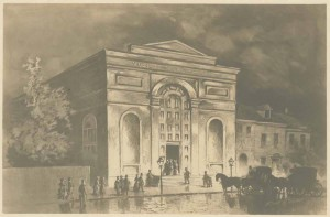 Musical Fund Hall, site of the first Republican National Convention in 1856. (Library Company of Philadelphia)