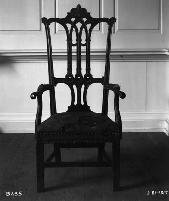 Rising Sun Chair, Independence Hall