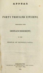 A color photograph of the title page of a book, featuring plain black lettering, with some text italicized and bolded .