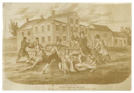 Native American Pennsylvania Relations 1754 89 Encyclopedia Of