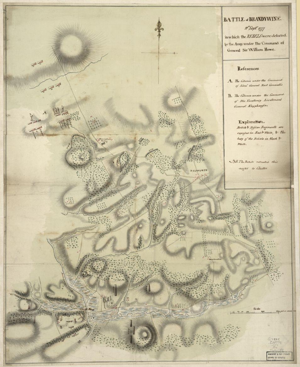 brandywine battlefield map - photo #19