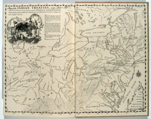A map showing the land deals made between the Iroquois League and Pennsylvania, 1736-1792