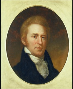 William Clark by Charles Willson Peale, from life, 1807-1808