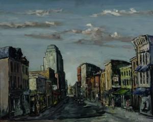 Quaint street Walter Emerson Baum