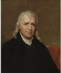 A painted portrait of US Supreme Court Justice Samuel Chase