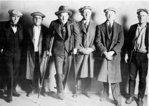 The Bailey Brothers bootlegging gang